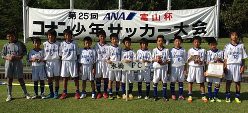 ANA冨山杯 コナン少年サッカー大会(15期6年生)